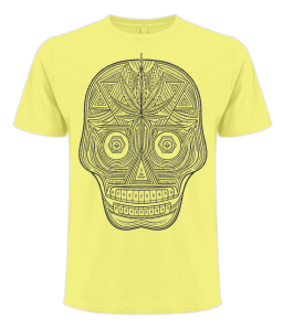New day of the dead t shirt by count dabula clothing. your one stop shop for fresh marijuana inspired apparel